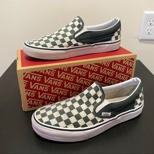 Vans Shoes | Forest Green Checkerboard